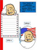 George Washington - Craftivity Set - Editable