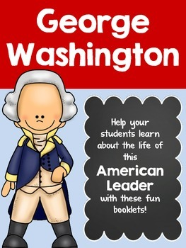George Washington Student Booklets & More- NO PREP