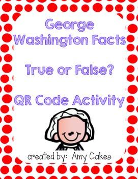 George Washington True/False QR Code Activity