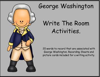 George Washington Write the Room
