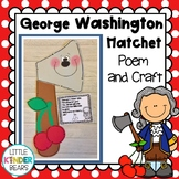 George Washington and the Cherry Tree Craft For Presidents Day