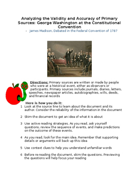 George Washington at the Constitution Convention- By Madis