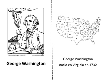 George Washington book in Spanish