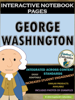 George Washington's Interactive Notebook Pages