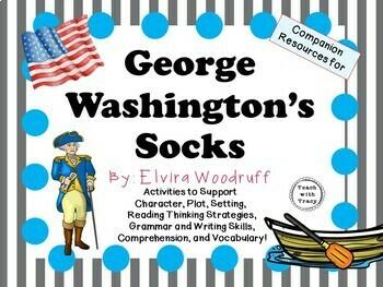 George Washington's Socks by Elvira Woodruff: A Complete N