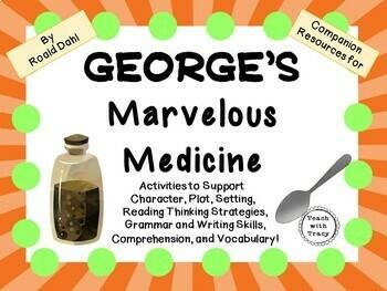 George's Marvelous Medicine by Roald Dahl: A Complete Nove