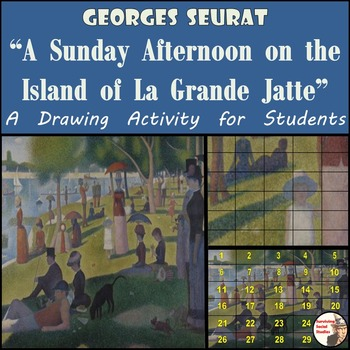 """Georges Seurat - """"A Sunday Afternoon on the Island of La G"""