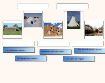 Georgia 4th Grade Native American Homes for Alternate Assessment