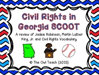Civil Rights:  Civil Rights Heroes from Georgia SCOOT