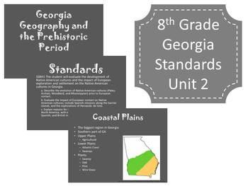 Georgia Common Core 8th Grade Social Studies Unit 2