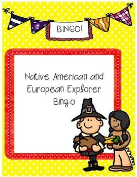 Georgia Explorers and Native American Bingo