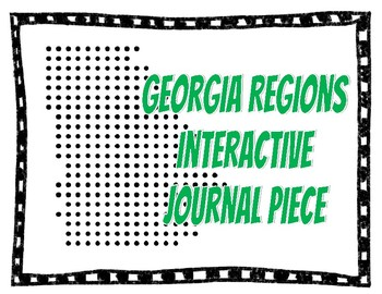 Georgia Habitat Interactive Journal Piece