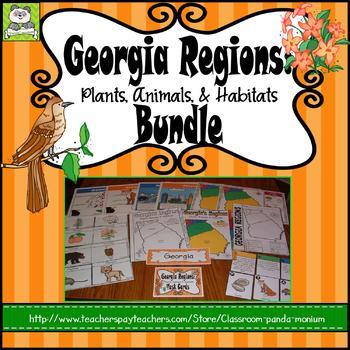 Georgia Habitats Bundle
