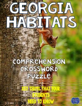 Georgia Habitats Crossword