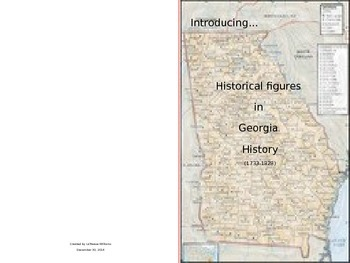 Georgia Historical Figures (1733-1828)