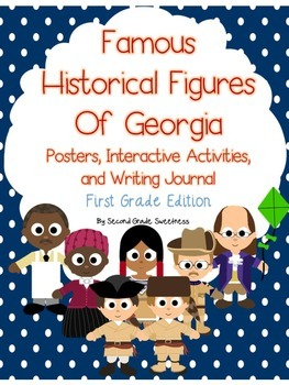Georgia Historical Figures Activity Pack, 1st Grade