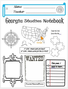 Georgia Notebook Cover