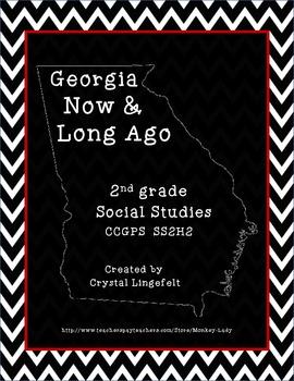 Georgia Now and Long Ago (Creek and Cherokee) FREEBIE