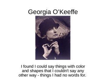 Georgia O'Keefe Power Point