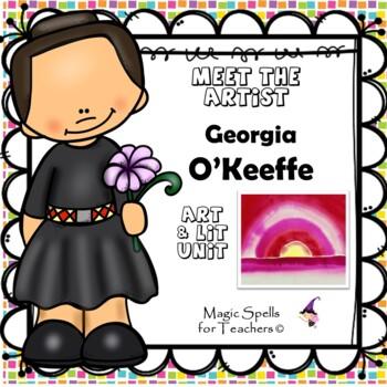 Georgia O'Keeffe - Meet the Artist - Artist of the Month -