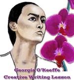 Georgia O'Keeffe Word Search and Creative Writing Lesson