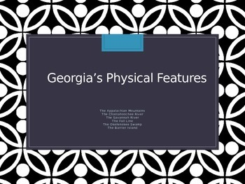 Georgia Physical Features