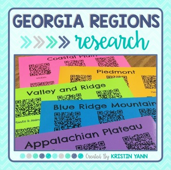 Georgia Regions Research