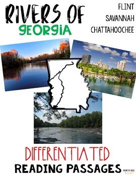Georgia Rivers Differentiated Reading Passages