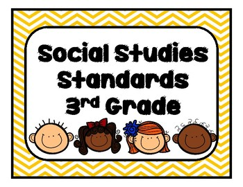 Georgia Social Studies Standards Third Grade