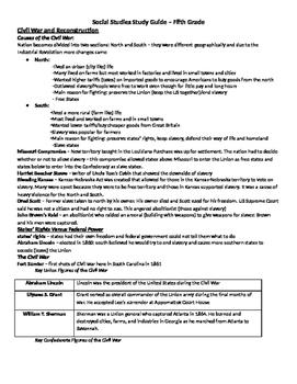 Georgia Social Studies Study Guide