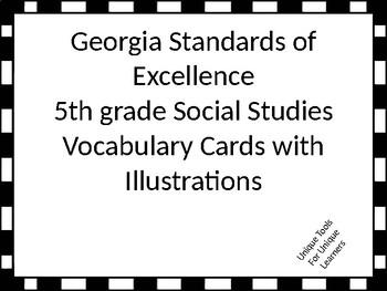 Georgia Standards of Excellence 5th grade Social Studies V