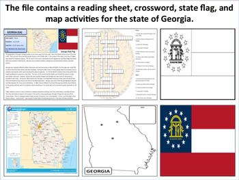 Georgia - State Activity Set