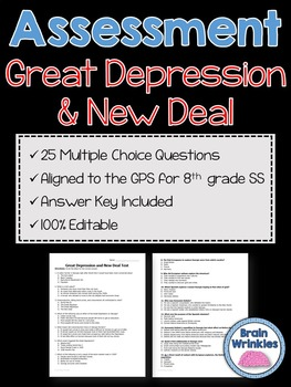 Georgia Studies: Great Depression and New Deal Assessment