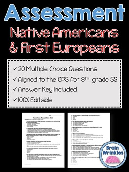Georgia Studies: Native Americans and First Europeans Asse