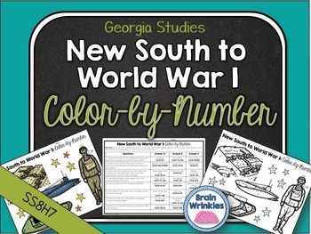 Georgia Studies: New South to World War I Color-by-Number