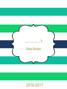 Teacher & Student Data Binder System 1 (Editable)