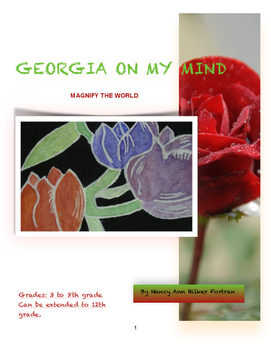 Georgia on my Mind - Georgia O'Keeffe Art Lesson - 3rd - 8