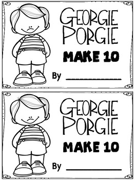 Georgie Porgie Make 10 Booklet