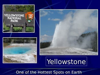 Geothermal Features Yellowstone's Volcano Caldera-Geysers,
