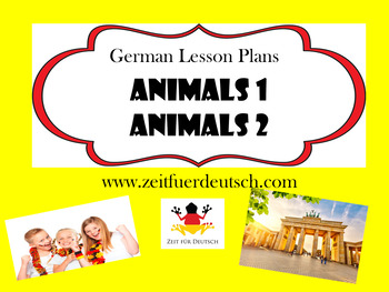 Animals Bundle. German Lesson Plans and Resources