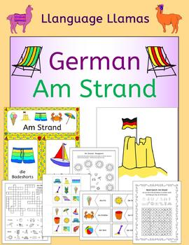 German Summer Beach Vacation Resources - Am Strand