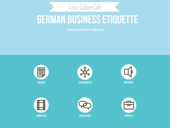 Cross-Cultural Training/Business English for ESL/EFL: Germ