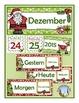 German Calendar Pocket Chart Bundle for Winter