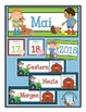 German Calendar Set for May (for pocket chart calendars)