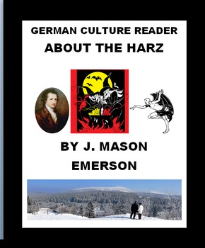 German Culture Reader About The Harz (Beautiful-Spooky Mt Region)