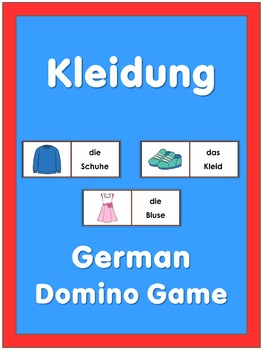 German Domino Game  Clothes