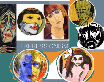 German Expressionism Art History FREE Poster