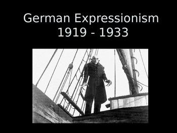 German Expressionism Overview- Teacher Copy