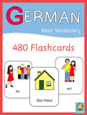 German Flash Cards - Basic Vocabulary