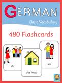 German Flash Cards - Basic Vocabulary